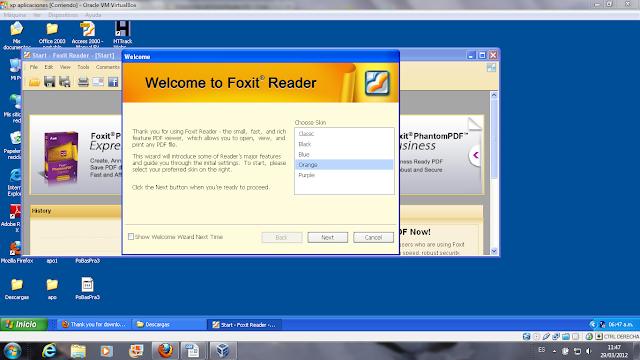14 instalación de foxit reader