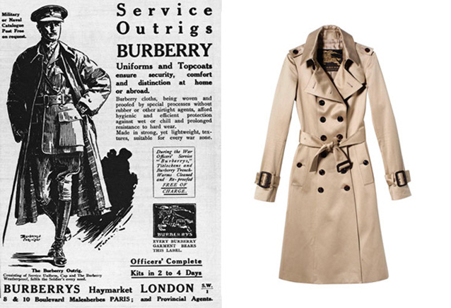 histoire du trench coat