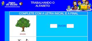 http://www.jogosdaescola.com.br/play/atividades/atividades_portugues/completar_palavras_14.html