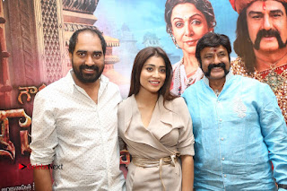 Shriya Saran Nandamuri Balakrishna at Gautamiputra Satakarni Team Press Meet Stills  0212.JPG