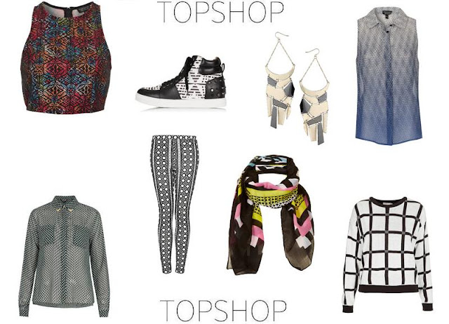 Topshop Geometric Fashion