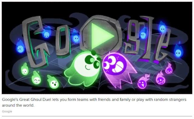 Google Doodle scares