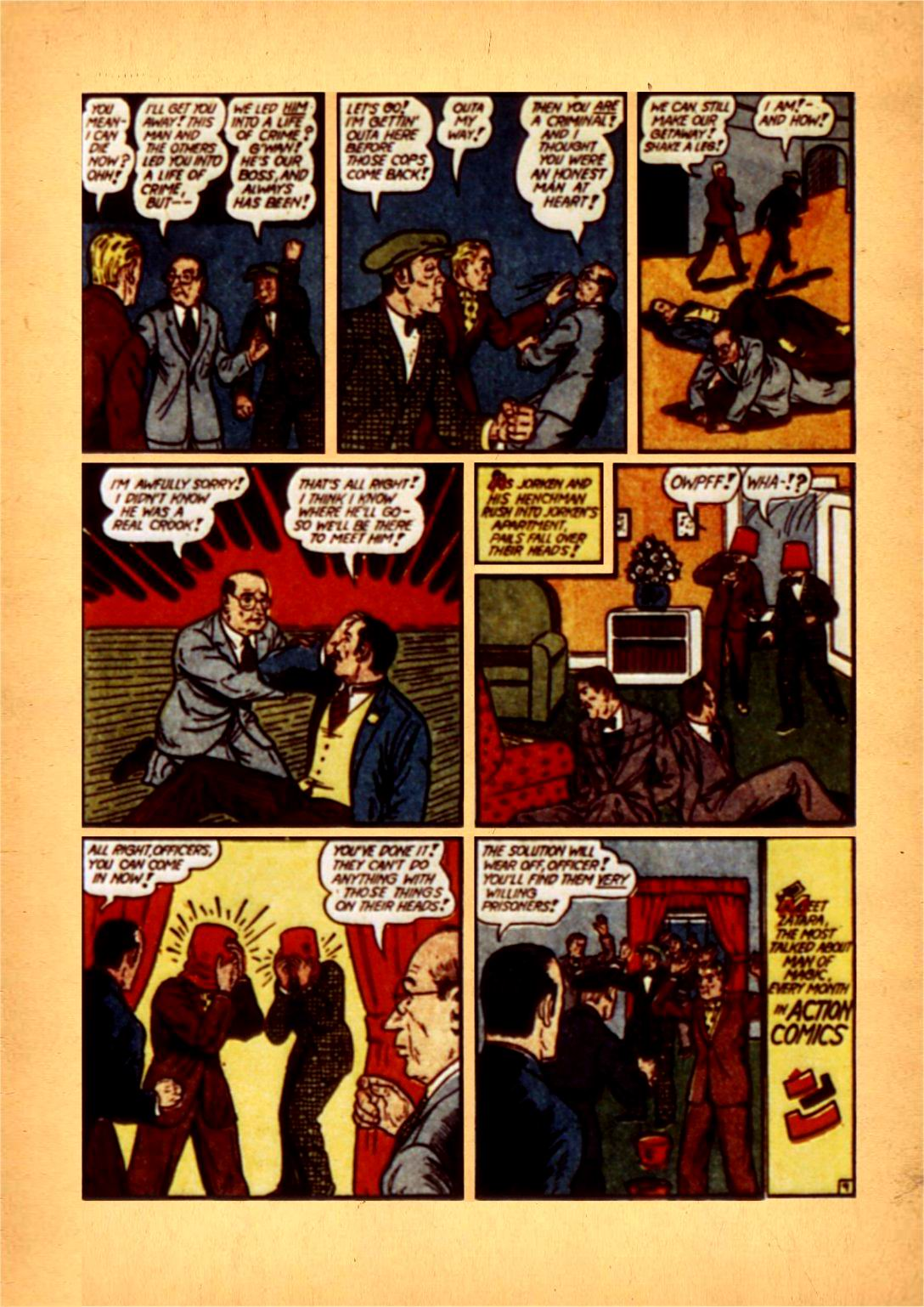 Read online Action Comics (1938) comic -  Issue #50 - 74