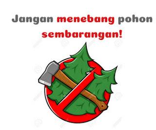 Contoh Gambar Slogan Lingkungan