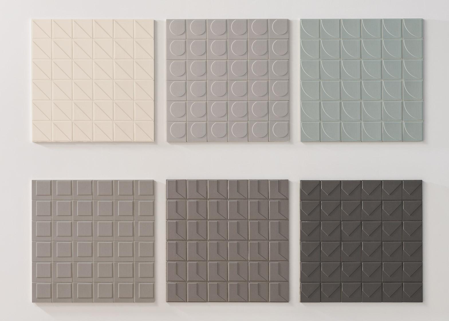 La prima collezione di piastrelle di konstantin grcic per - Texture piastrelle bagno ...