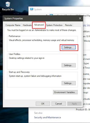 Tăng tốc máy tính Windows 10 - tăng tốc độ khởi động - giảm hiệu ứng chuyển cảnh.
