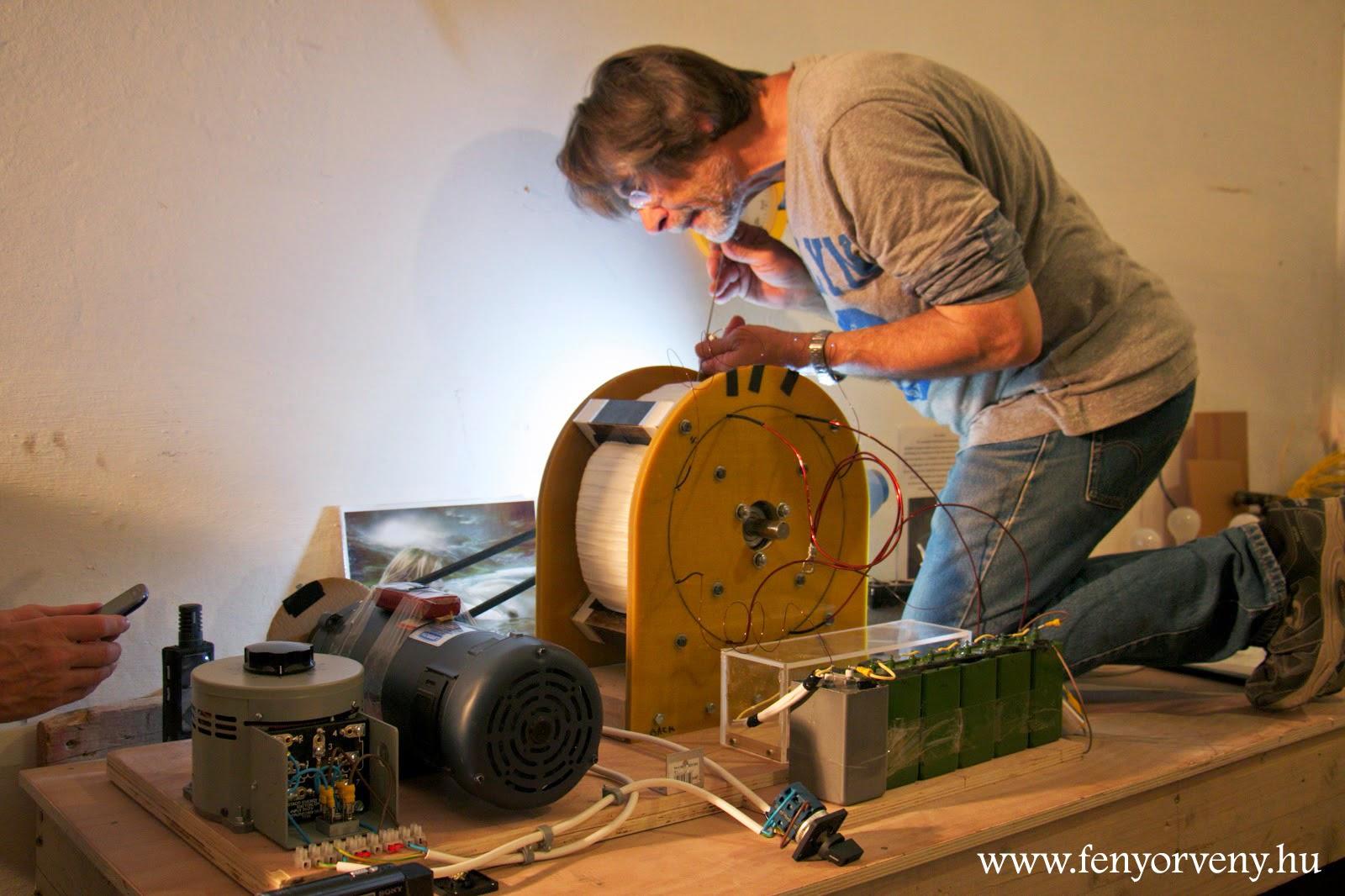 Marokkóban is megépítették az QEG készüléket-Ingyen energia bárkinek