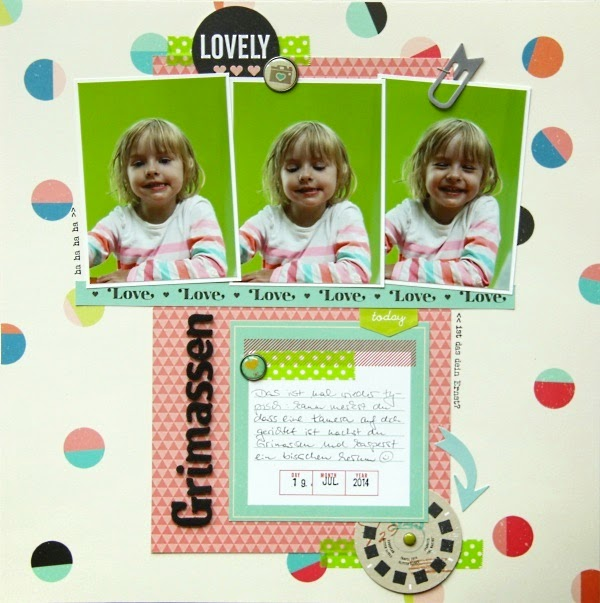 American Crafts Shimelle Collection, Klartext Stempelset Textpfeile