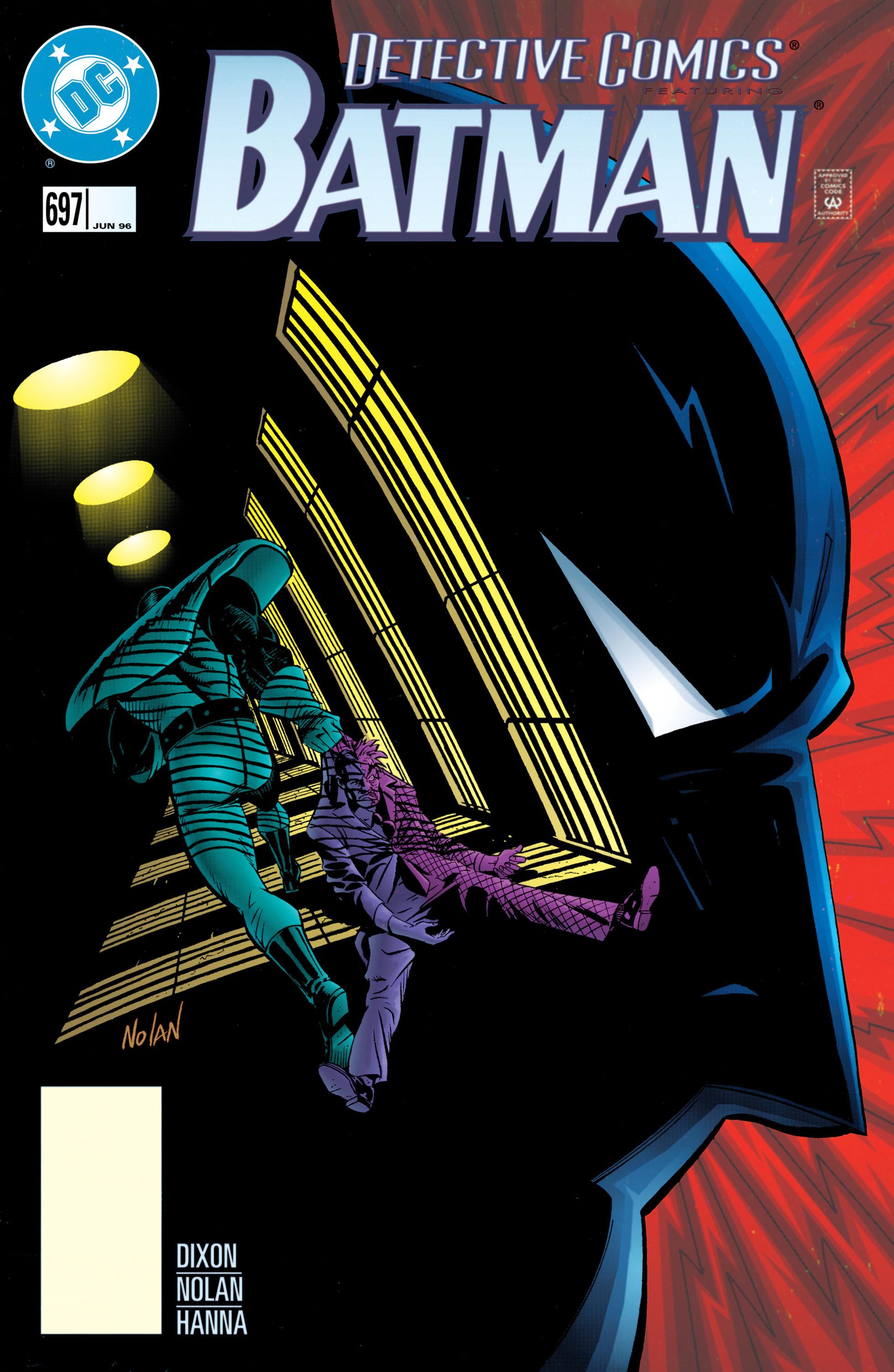 Detective Comics (1937) 697 Page 0