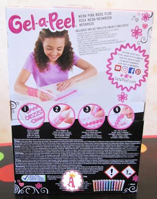Игровой набор для девочек MGA Gel-a-peel с розовым гелем