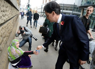 Ed Miliband demonstrates the extent to which Labour can really help.