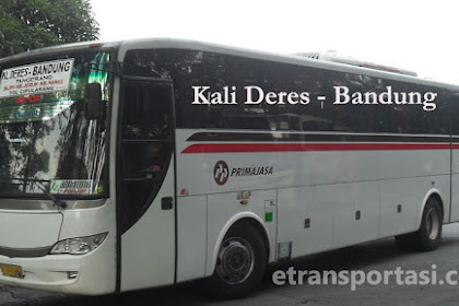 Harga Tiket Bus Primajasa Kali Deres - Bandung