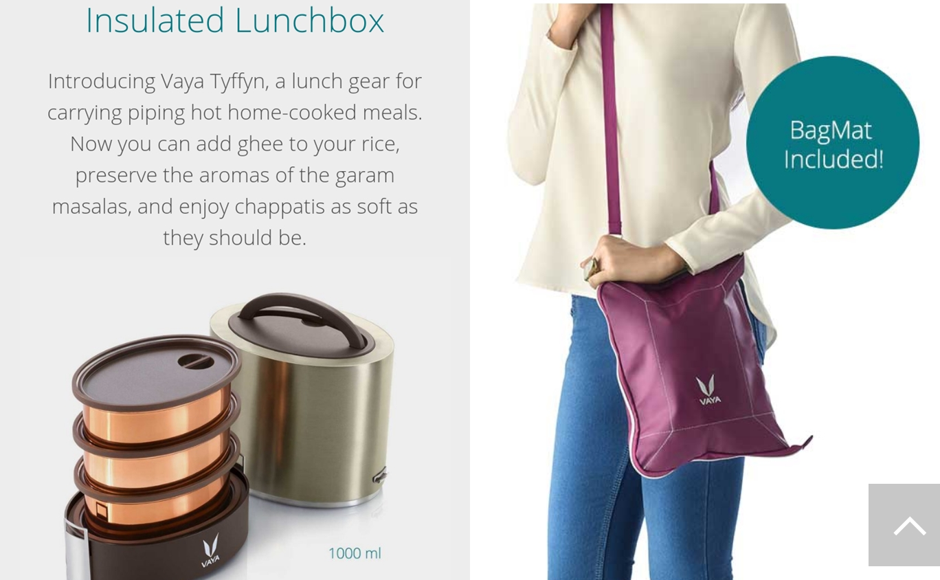 "Event And First Impressions: Vaya Premium ""Tyffyn"" lunch Box"