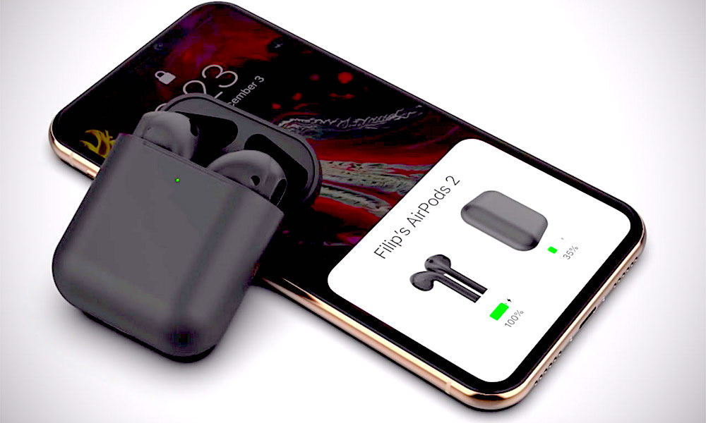 Report: AirPods 2 with New Black Color, Grippier Texture