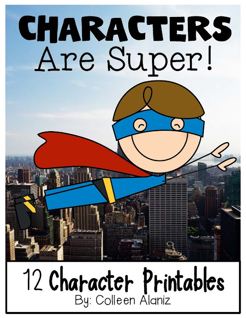 https://www.teacherspayteachers.com/Product/Characters-are-Super-669766