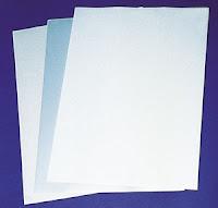 Folienetiketten auf DIN A4 Bogen