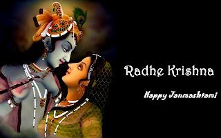 happy janmashtami radha krishna image