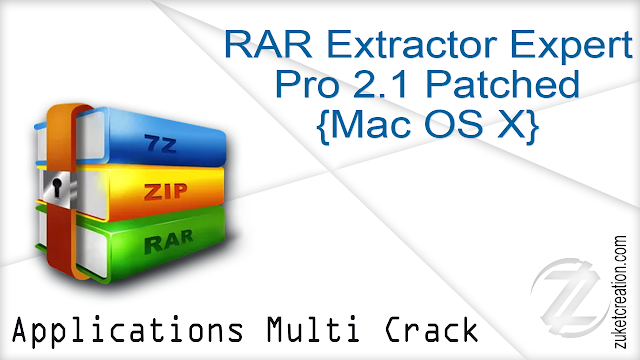 RAR Extractor Expert Pro 2.1 Patched {Mac OS X}
