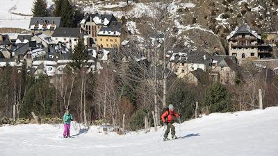 esqui de travesia y splitboard en la pinada de san juan