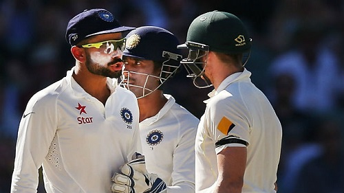 Kohli & Smith fight in Test series
