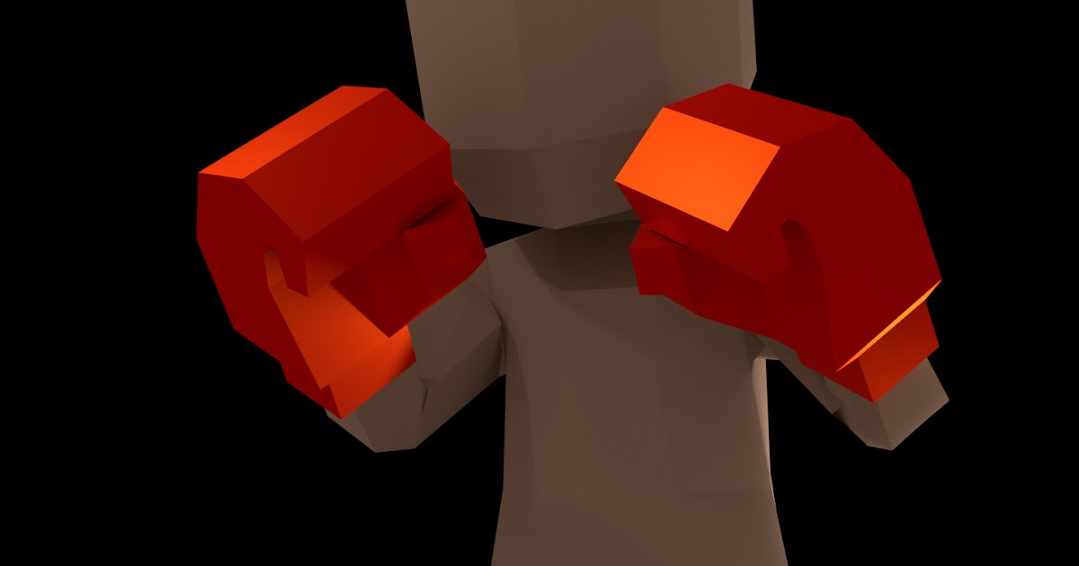 Blender - Male Boxer