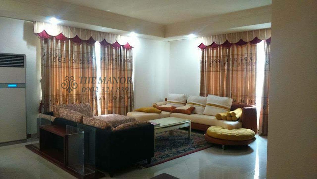 Căn hộ 168m2 cho thuê tại The Manor quận Bình Thạnh 3PN