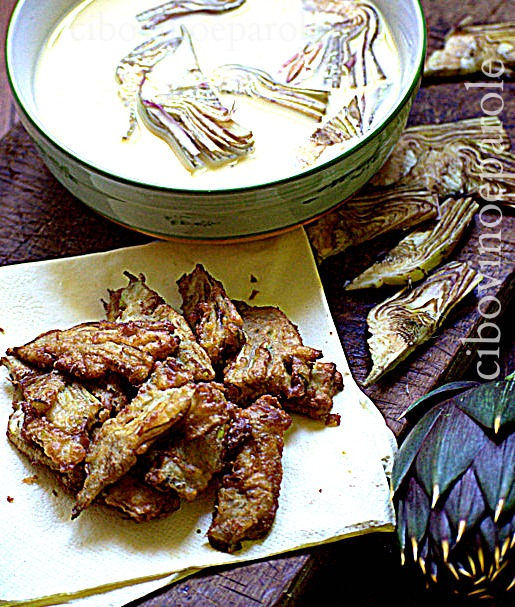 Battered Artichoke - recipe