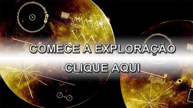 ver o conteúdo do disco de ouro enviado pro espaço na sonda voyager