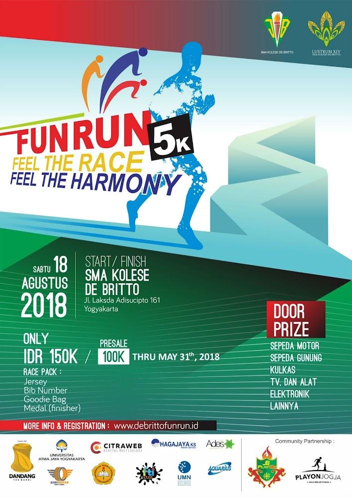 De Britto Fun Run • 2018