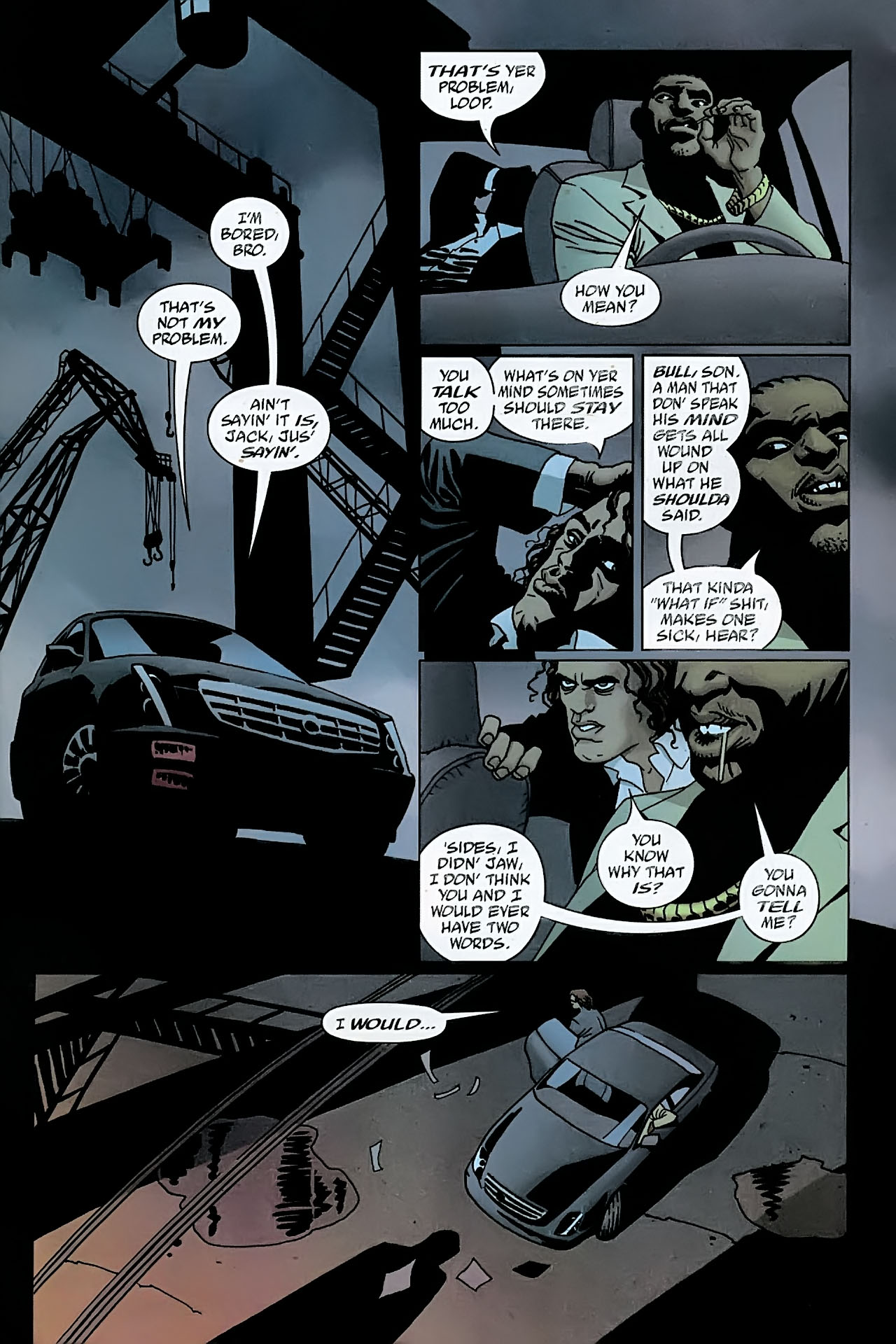 Read online 100 Bullets comic -  Issue #89 - 22