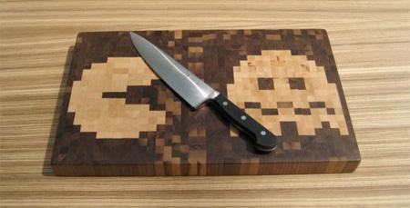 Pacman Cutting Board