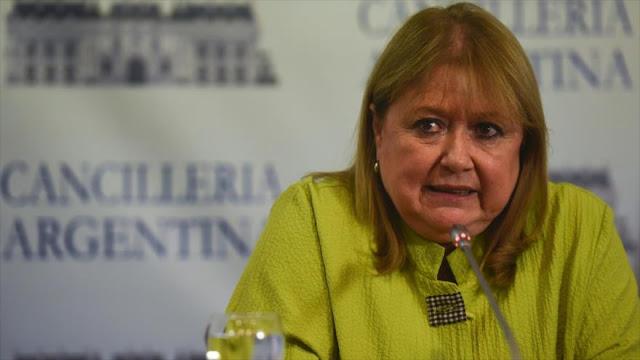 Oposición argentina amenaza a Malcorra con juicio por Malvinas