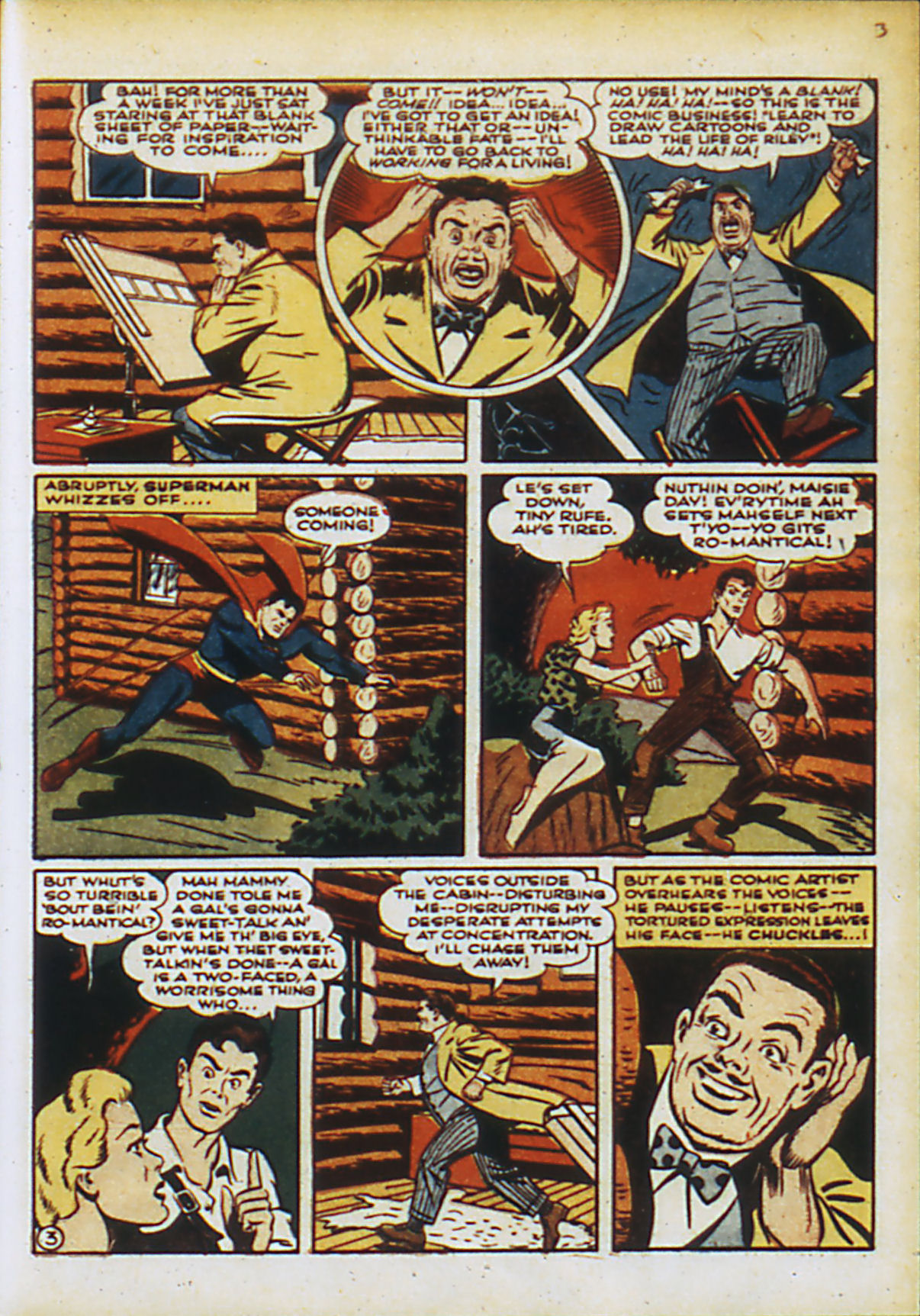 Read online Action Comics (1938) comic -  Issue #55 - 6