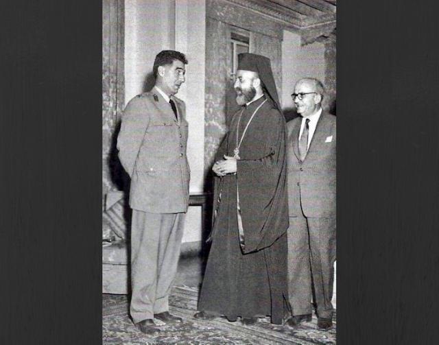 Cemal Madanoğlu'nun Makarios'un Elini Sıkmaması