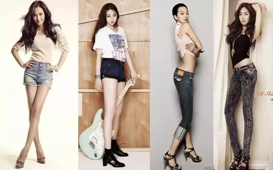 Tips Langsing bak artis cantik korea