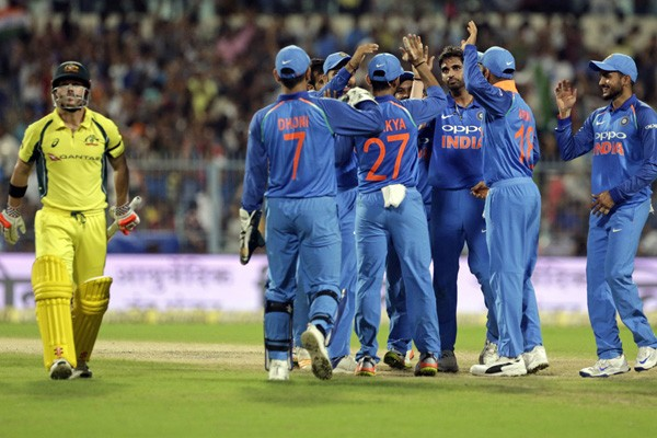 Indian cricket team won the five-day ODI Series by 4-1 an achived number 1 spot in ICC ODI rankings