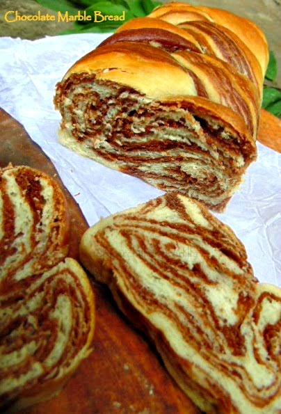how to make marble swirl bread