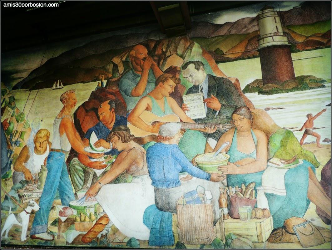 Murales en The Beach Chalet