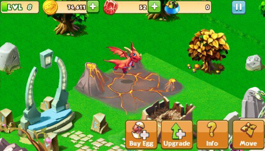 guide to upgrading Habitats in Dragon Mania