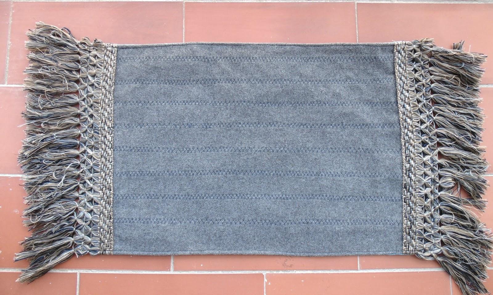Fefe creative blog de costura y reciclaje alfombra diy - Alfombra para habitacion ...
