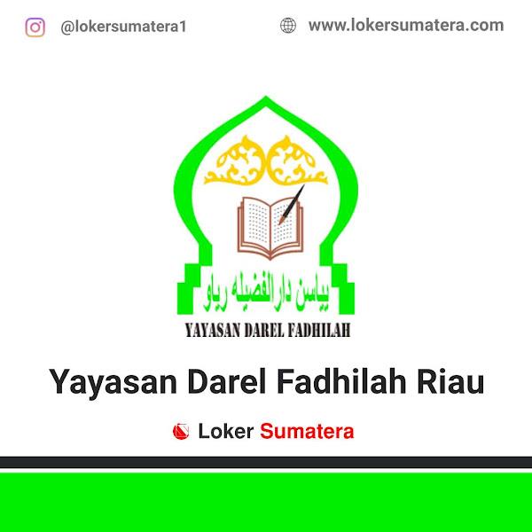 Lowongan Kerja Pekanbaru, Darel Fadhilah Riau Juni 2021