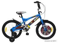Sepeda Anak Wimcycle HotWheel 18 Inci