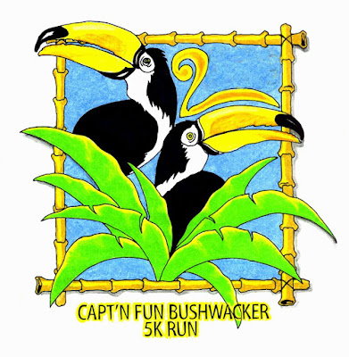 Capt'n Fun Bushwacker 5K Run