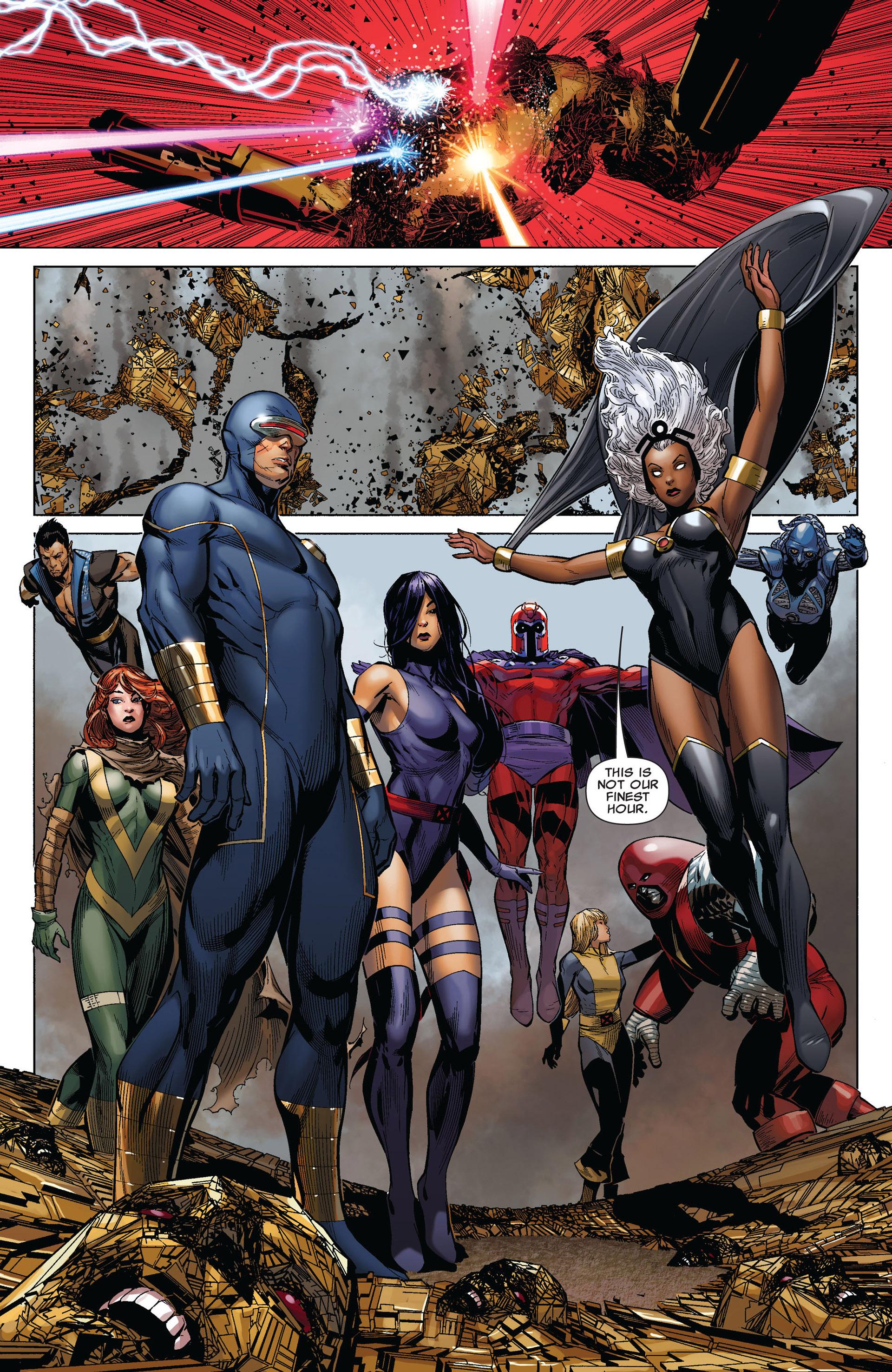 Read online Uncanny X-Men (2012) comic -  Issue #4 - 21