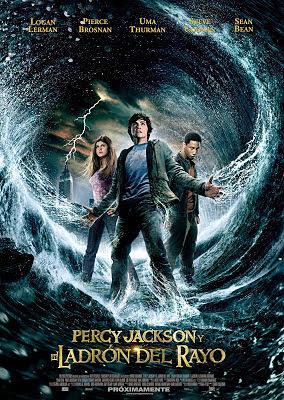 Cartel: Percy Jackson y el ladrón del rayo (2010)
