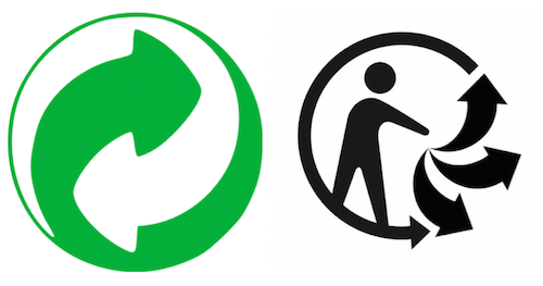 le logo point vert ne sert a rien : il n'indique en rien que l'emballage est recyclable
