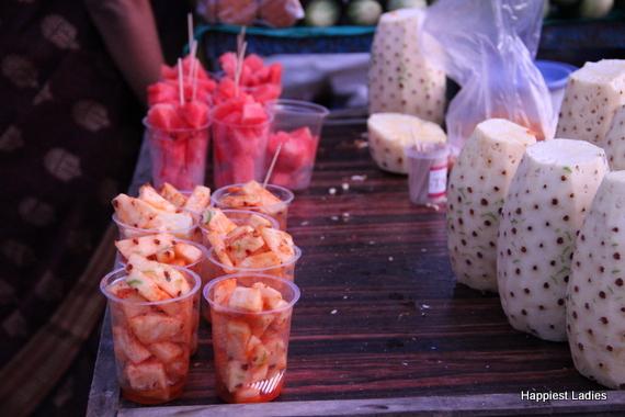 street food stalls of mysore india