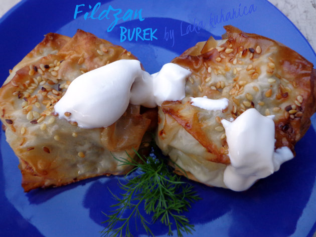 Fildzan burek by Laka kuharica: this burek is a legacy of the Ottoman Empire to the South Eastern Europe.
