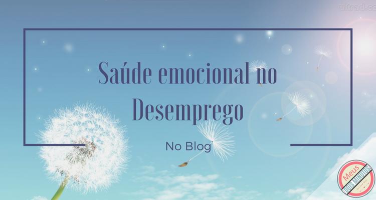 saúde emocional e desemprego depressão