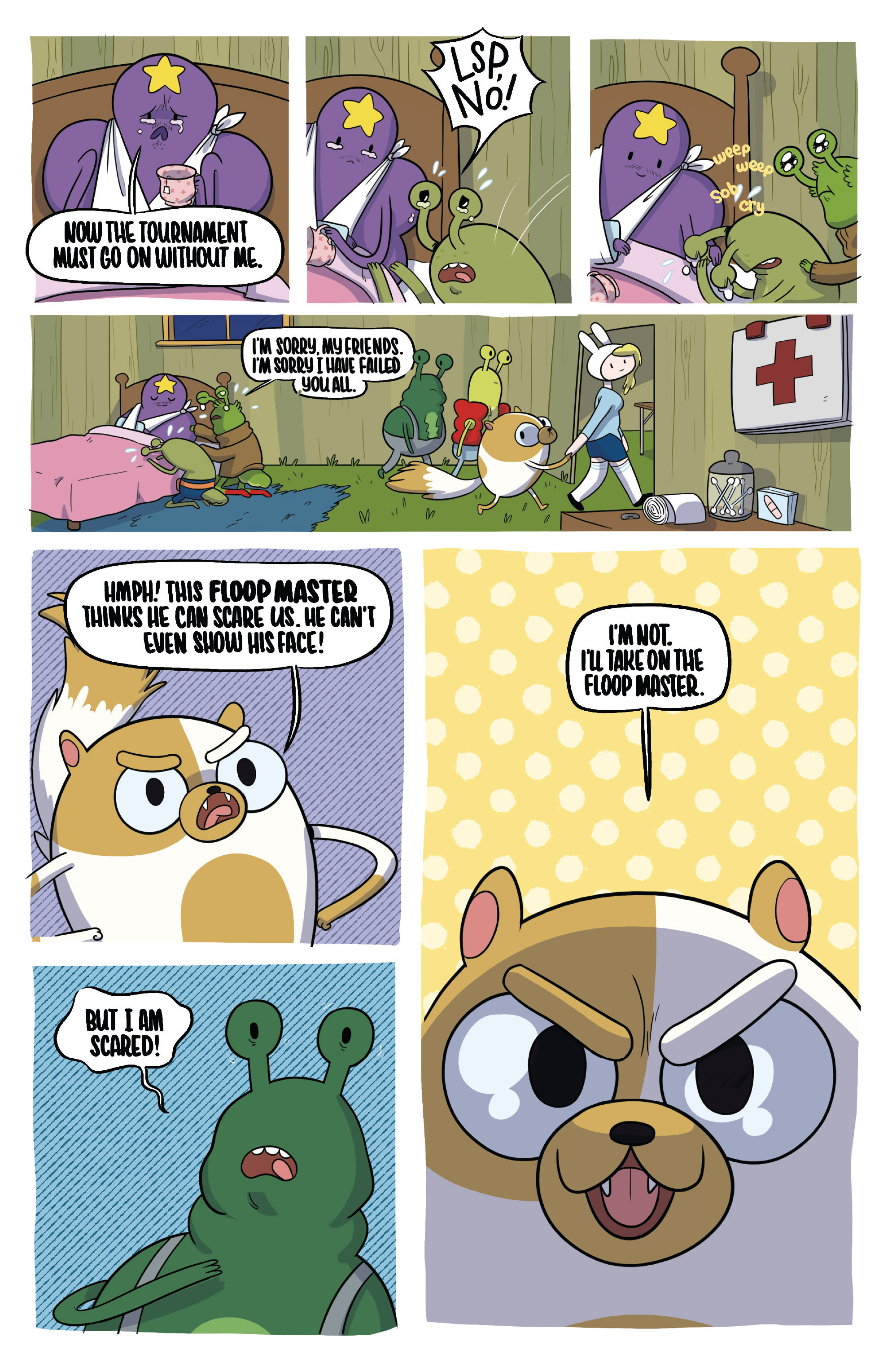 Read online Adventure Time Fionna and Cake Card Wars comic -  Issue #2 - 9